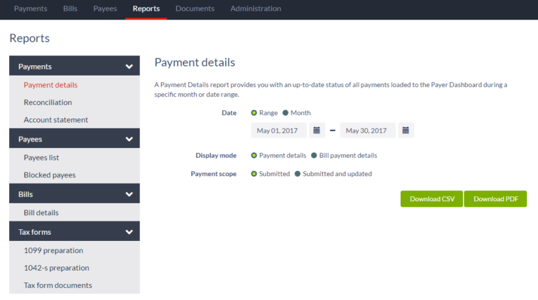(2019) Payment Reconciliation - Product Page 5